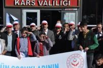 Kars'ta Protokol Mehmetçiğe Asker Selam Gönderdi