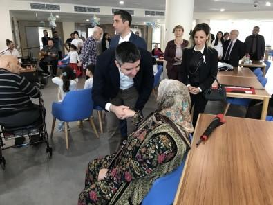 Kartal Belediyesi Yaşlı Bakım Ve Huzurevi Sakinleri Cumhuriyet Coşkusunu Kreş Öğrencileriyle Yaşadı