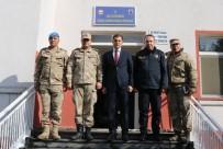 Kaymakam Erat'tan Ovakışla Jandarma Karakolu'na Ziyaret