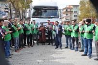 HICRET - Simav'dan İdlip'e Un Ve Oyuncak Yardımı