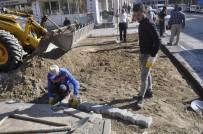 Şuhut Belediyesi'nden Parke Taşı Yenileme Çalışmaları
