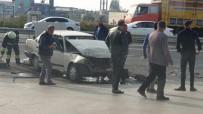 Tekirdağ'da Kaza Açıklaması 3 Yaralı