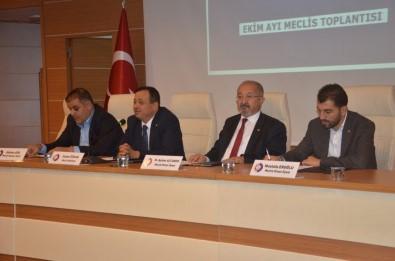 TSO Ekim Ayı Meclis Toplantısı Düzenledi