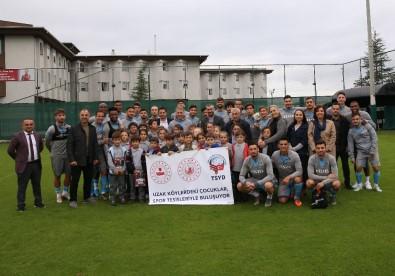 'Uzak Köylerde Yaşayan Çocukları' Trabzonspor Misafir Etti