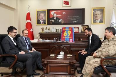 Vali Epcim'den Başkan Gürer'e Ziyaret