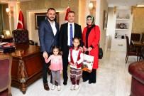 Vali Taşbilek, Minik Çevreci Zeynep'i Makamında Misafir Etti