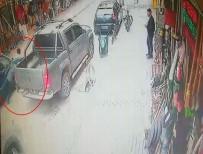 Vicdansız Sürücü Arkasına Bile Bakmadan Kaçtı