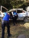 Elazığ'da Trafik Kazası Açıklaması 1'İ Ağır 5 Yaralı