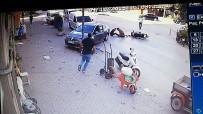 İnanılmaz kaza kamerada!