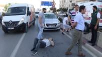 İnegöl'de Kaza Açıklaması 1 Yaralı