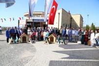 Kocaeli'de Okullara Kedi Ve Köpek Kulübesi Dağıtıldı
