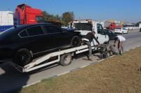 Kocaeli'de Otomobil Motosiklete Çarptı Açıklaması 1 Ölü