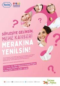 Meme Kanseri 'Merakına Yenilsin' Halk Buluşmaları Forum Aydın'da Başlıyor