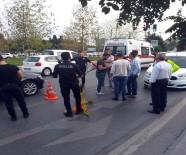 Motosikletli İki Kişi Otomobile Kurşun Yağdırdı Açıklaması 1 Yaralı