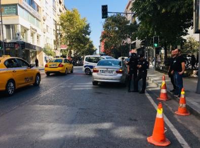 Şişli'de Akıl Almaz Kaza  Açıklaması1 Yaralı