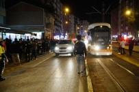 ESKİBAĞLAR MAHALLESİ - Tramvayın Çarptığı Genç Yaralandı