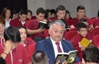 Vali Yazıcı Öğrencilerle Kitap Okudu