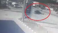 KALENDER - 18 Yaşındaki Motosiklet Sürücüsünün Öldüğü Feci Kaza Kamerada