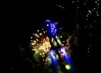 Adana'da Işık, Havai Fişek Ve Flyboard Gösterisi