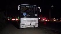 Antalya'da Tur Otobüsü Otomobile Çarptı Açıklaması 6 Yaralı