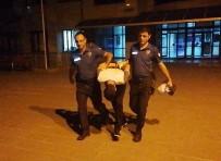 Bankanın Vezne Camını Kırıp 10 Bin Lirayı Çalan Şüpheli Tutuklandı