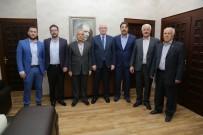CHP Emirdağ İlçe Başkanı Recep Özer'den Kazım Kurt'a Ziyaret