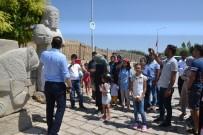 Güder, Çocuklarla Arslantepe'yi Gezdi