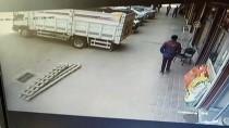 Kahramanmaraş'ta Kaza Anı Güvenlik Kamerasında
