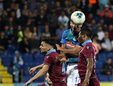 Karadeniz Derbisi'nde kazanan Trabzonspor