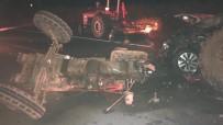 MUSTAFA BULUT - Kırıkkale'de 4 Araçlı Zincirleme Trafik Kazası Açıklaması 1 Ölü, 1 Yaralı