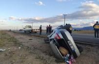 Konya'da Düğün Dönüşü Kaza Açıklaması 1 Ölü, 1 Yaralı