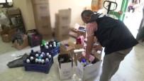 Pendik'te Merdiven Altı Kahve Ve Deterjan Operasyonu Kamerada