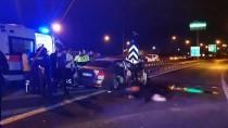 TEM'de Trafik Kazası Açıklaması 2 Ölü, 3 Yaralı