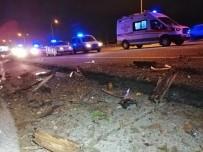 TEM Otoyolunda Feci Kaza Açıklaması 2 Ölü 1 Ağır Yaralı
