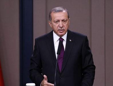 Cumhurbaşkanı Erdoğan: ABD'nin bölgeden çekilme olayı başladı