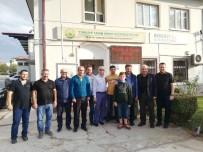 FAHRETTİN POYRAZ - Genel Müdür Poyraz'dan Başkan Şahin'e Ziyaret