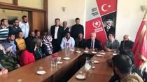 Ekrem İmamoğlu - İBB'de İşten Çıkartılan İşçiler, Vatan Partisi'ni Ziyaret Etti