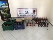 Manavgat'ta Kaçak İçki Operasyonu