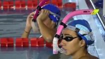 YÜZME HAVUZU - Milli Yüzücüler Olimpiyatlara Kulaç Atıyor
