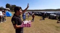 ARAZİ ARACI - Motor Kaputunda Yumurta Taşıdılar
