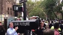 WALL STREET - New York'ta İklim Değişikliği Protestosu