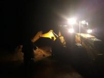 Rize'nin Pazar İlçesinde Şiddetli Yağış
