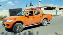 Suriye Sınırına İş Makinesi Sevkiyatı