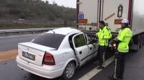 Anadolu Otoyolu'nda Zincirleme Trafik Kazası Açıklaması 4 Yaralı