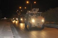 Askeri birlikler Suriye'deki üs bölgelerine hareket etti