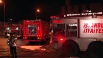 Ataşehir'de Kereste Fabrikasında İşçiler Isınmak İsterken Yangın Çıktı