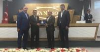 MARKA ŞEHİRLER - Başkan Aslan, Van TSO'nun Meclis Toplantısına Katıldı