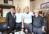 SELAHATTIN EYYUBI - Başkan Fadıloğlu, 9 Mahalle Muhtarını Ziyaret Etti