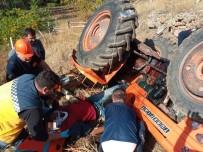 Çorum'da 2 Ayrı Traktör Kazası Açıklaması 1 Ölü, 1'İ Ağır 3 Yaralı