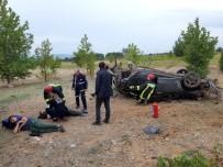 Denizli'de Trafik Kazası Açıklaması 2 Yaralı